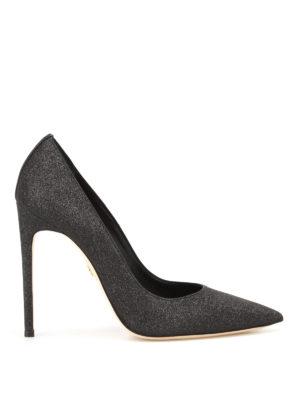 Dsquared2: court shoes - Basic black glitter pumps