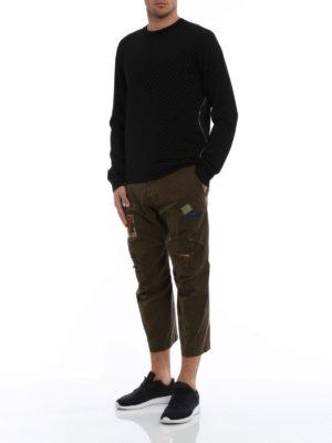 Dsquared2: crew necks online - Pure wool sweater