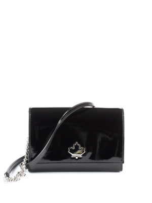 Dsquared2: cross body bags - 50's Rock Disco black crossbody