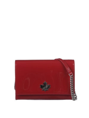 Dsquared2: cross body bags - 50's Rock Disco red crossbody