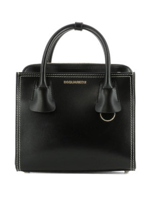 Dsquared2: cross body bags - 50's Rock Twin Pack black bag