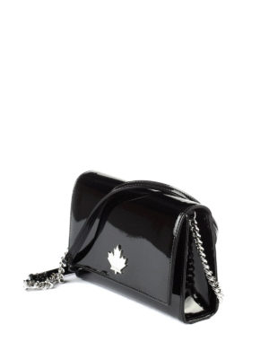 Dsquared2: cross body bags online - 50's Rock Disco black crossbody