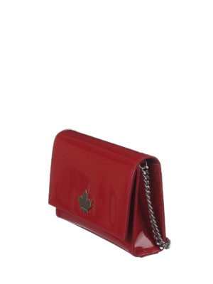 Dsquared2: cross body bags online - 50's Rock Disco red crossbody