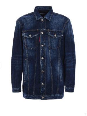 Dsquared2: denim jacket - Be Cool Be Nice denim jacket