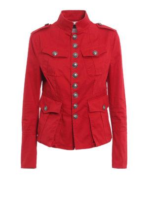 Dsquared2: denim jacket - Denim livery jacket