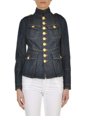 Dsquared2: denim jacket online - Livery denim jacket