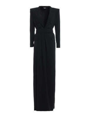 Dsquared2: evening dresses - Alicia redingote style gown