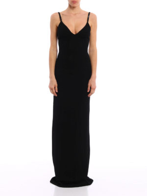 Dsquared2: evening dresses online - Embellished straps knitted dress