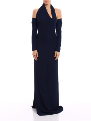 Dsquared2: evening dresses online - Shrug detail one shoulder dress