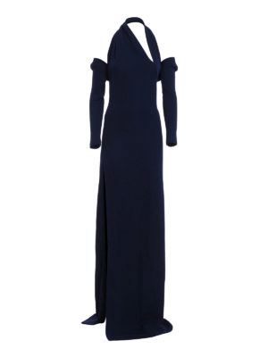 Dsquared2: evening dresses - Shrug detail one shoulder dress