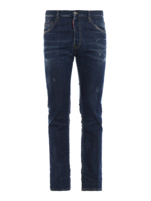 DSQUARED2: jeans a zampa - Jeans Cropped Flare