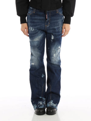 Dsquared2: flared jeans online - Ski Collection denim jeans