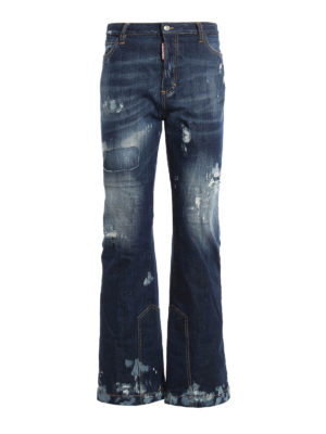 Dsquared2: flared jeans - Ski Collection denim jeans