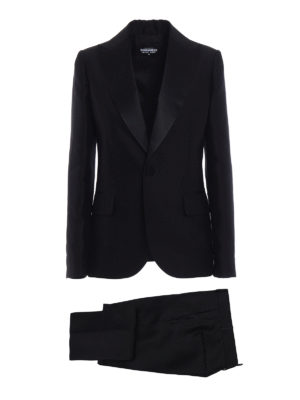 Dsquared2: formal suits - Napoli silk blend tuxedo