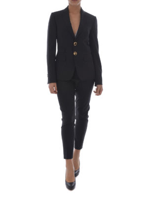 Dsquared2: formal suits online - Black stretch wool formal suit