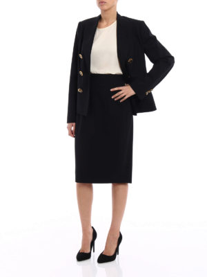 Dsquared2: formal suits online - Double-breasted skirt suit