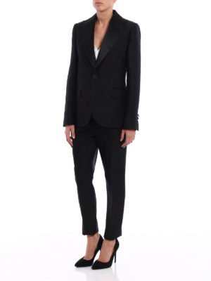 Dsquared2: formal suits online - Napoli silk blend tuxedo