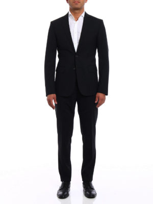 Dsquared2: formal suits online - Paris black tailored suit