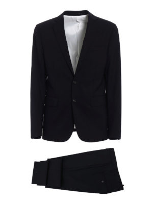 Dsquared2: formal suits - Paris black tailored suit