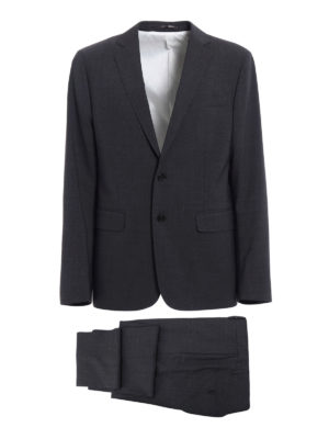 Dsquared2: formal suits - Paris grey tailored suit