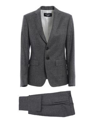 Dsquared2: formal suits - Wool suit