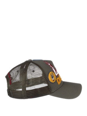 Dsquared2: hats & caps - Baseball cap with patches