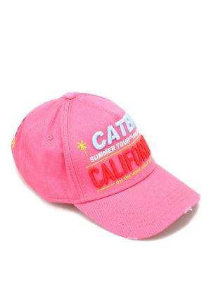 Dsquared2: hats & caps - California cotton cap