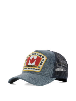 Dsquared2: hats & caps - Canada patch baseball cap