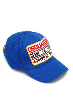 Dsquared2: hats & caps - D2 cotton cap