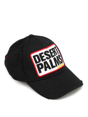 Dsquared2: hats & caps - Desert Palm cotton cap
