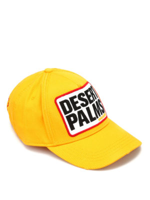 Dsquared2: hats & caps - Desert Palm cotton cap