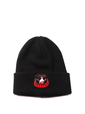Dsquared2: hats & caps - Knitted wool beanie