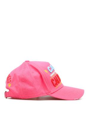Dsquared2: hats & caps online - California cotton cap