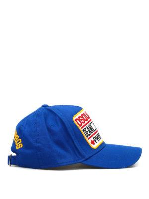 Dsquared2: hats & caps online - D2 cotton cap