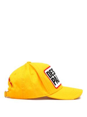 Dsquared2: hats & caps online - Desert Palm cotton cap