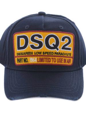 Dsquared2: hats & caps online - DSQ2 cotton baseball cap