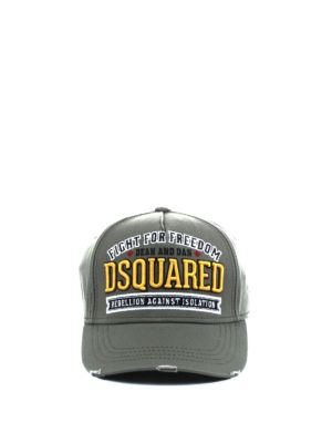 Dsquared2: hats & caps online - Fight for Freedom baseball cap
