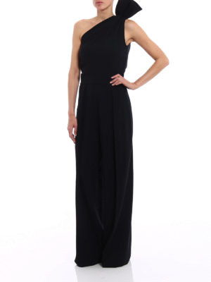 Dsquared2: jumpsuits online - Crepe one shoulder jumpsuit
