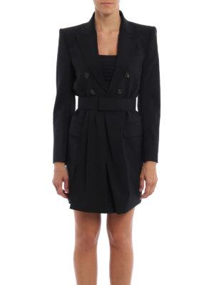 Dsquared2: knee length dresses online - Blazer style dress