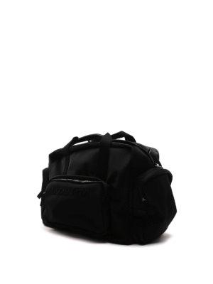 Dsquared2: Luggage & Travel bags online - Tom logo nylon duffle bag