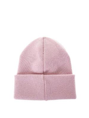 DSQUARED2: berretti online - Berretto in lana con ricamo Icon
