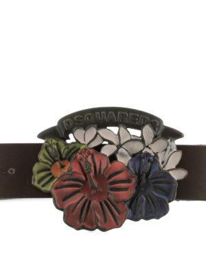 DSQUARED2: cinture online - Cintura Hawaiian Rocker AlohaSpirit