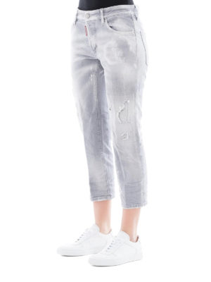 DSQUARED2: Boyfriend online - Jeans boyfriend Fade To Grey