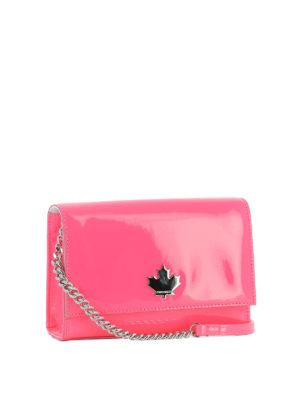 DSQUARED2: borse a tracolla online - Tracollina 50's Rock Disco rosa