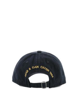 DSQUARED2: cappelli online - Cappello da baseball DSQ2 blu