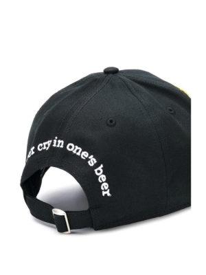 DSQUARED2: cappelli online - Cappellino da baseball con patch DSQ2
