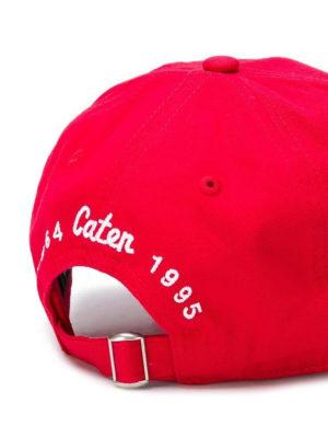 DSQUARED2: cappelli online - Cappellino con ricamo Dsquared²