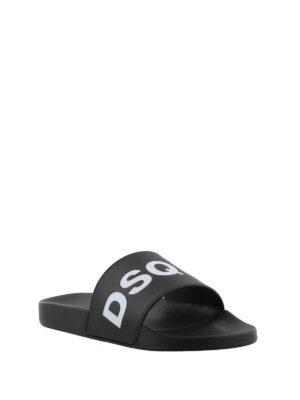 DSQUARED2: sandali online - Sandali aperti con logo