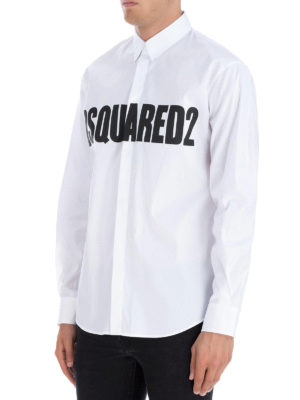 DSQUARED2: camicie online - Camicia Stretch Relax Dan