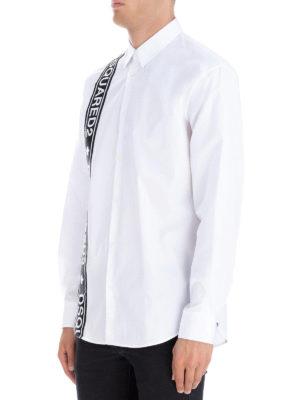 DSQUARED2: camicie online - Camicia Stretch Tape Relax Dan